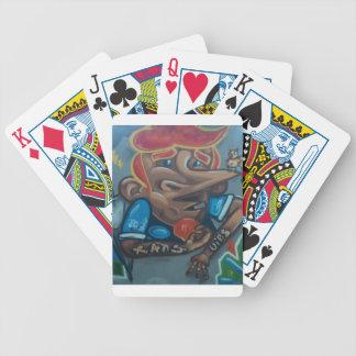 By the face baraja cartas de poker
