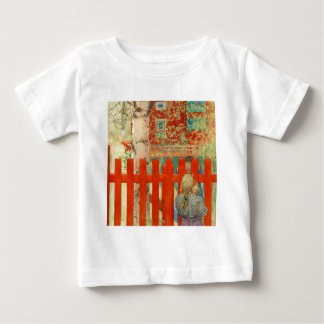 By the Fence Baby T-Shirt