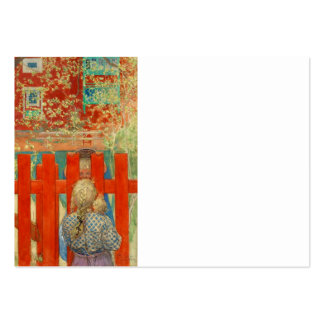By the Fence Large Business Cards (Pack Of 100)