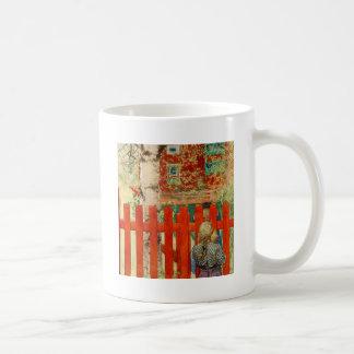 By the Fence Coffee Mug