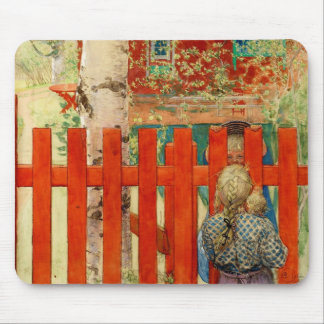 By the Fence Mouse Pad