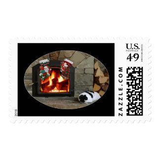 By the Fireplace Postage