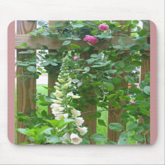 By the Garden Fence. Mouse Pad