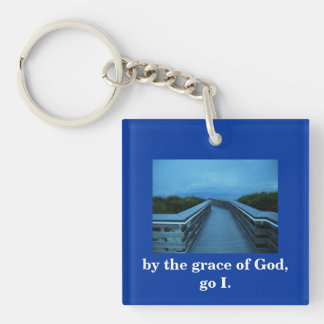 BY THE GRACE OF GOD KEYCHAIN