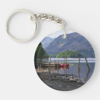 By The Lake Keychain