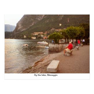 By the lake, Menaggio Postcard