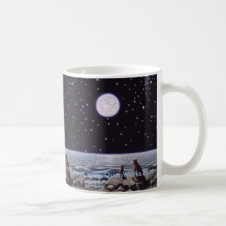 By the Light of the Cat Fish Moon, By the Light... Coffee Mug