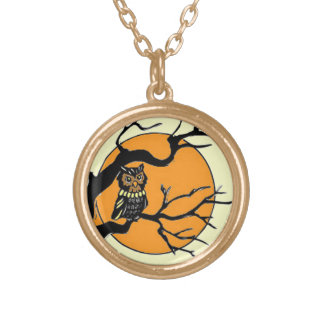 By the Light of the Moon Gold Plated Necklace