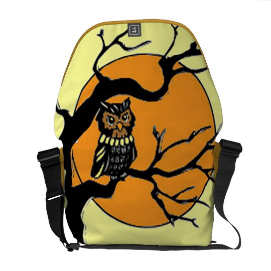 By the Light of the Moon Messenger Bag