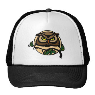 By the Light of the Moon Owl Trucker Hat