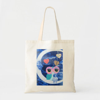 By The Light Of The Silvery Moon Canvas Bags