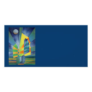 By The Light Of The Silvery Moon Card