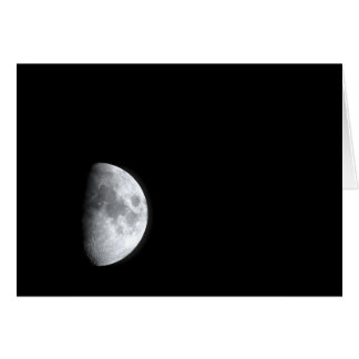 By the Light of the Silvery Moon Stationery Note Card