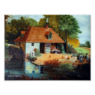 By the Mill Print
