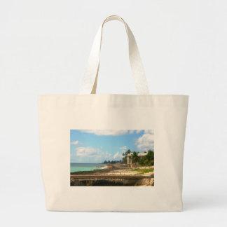 By The Ocean Jumbo Tote Bag