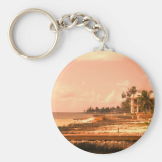 By The Ocean (Peach Tone) Keychain