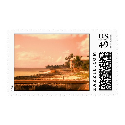 By The Ocean (Peach Tone) Postage
