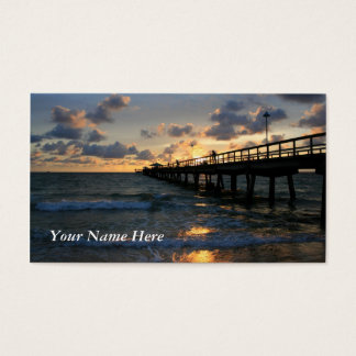 By the Pier Business Card