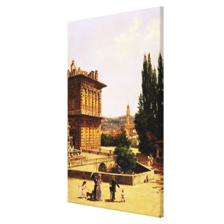 By the Pitti Palace, Florence Canvas Print