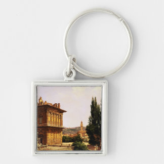 By the Pitti Palace, Florence Keychain