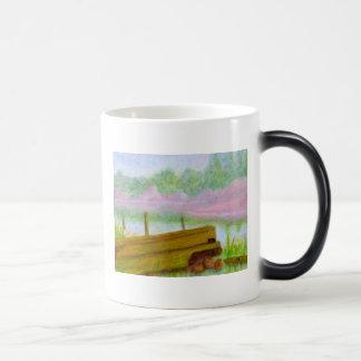 By the Pond, Mug, Glass Magic Mug