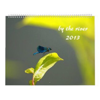 by the river 2013 wall calendar