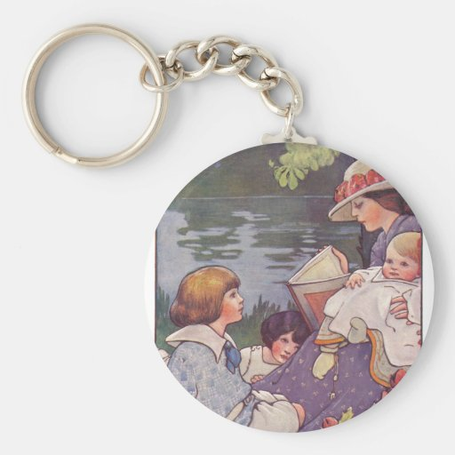 By the River Keychain
