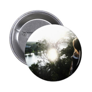 By the River Pinback Button