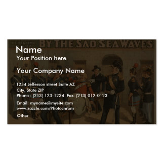 By the Sad Sea Waves, 'Put Down That Bier!' Business Card