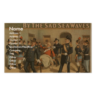By the Sad Sea Waves, 'Put Down That Bier!' Business Cards
