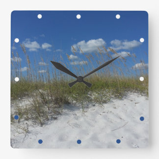 By The Sea and Sandy Beach Clock