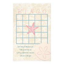 By the Sea Bingo Stationery