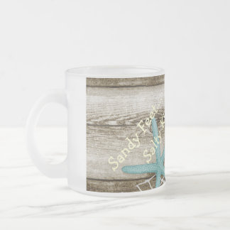 By the Sea Frosted Mug