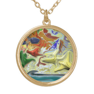 By the Sea Gold Plated Necklace