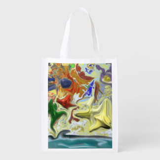 By the Sea Grocery Bags