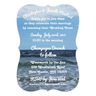 Shakespeare wedding invitations announcements zazzle by the sea high definition wedding invitation stopboris Gallery