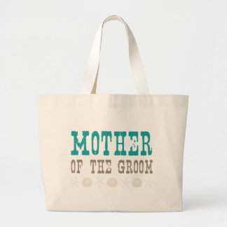 By the Sea Mother of the Groom Large Tote Bag