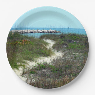 By the Sea Paper Plate