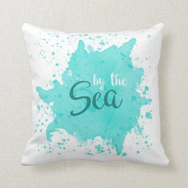 Beach Themed By the Sea Pillow