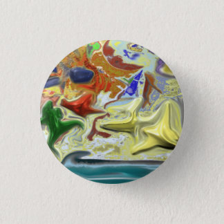 By the Sea Pinback Button