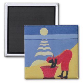 By the Sea Shore 1998 Magnet