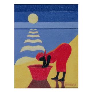 By the Sea Shore 1998 Postcard