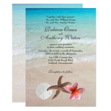 sandpiperWedding By the Sea Tropical Destination Wedding Invites