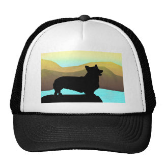 By The Sea Welsh Corgi Trucker Hat