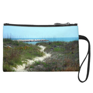 By the Sea Wristlet Clutches