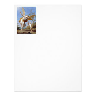 By the Seashore Angel and Child Letterhead
