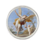 By the Seashore Angel and Child Pin
