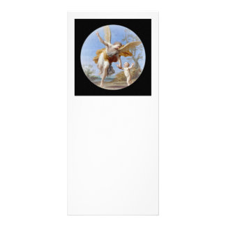 By the Seashore Angel and Child Rack Card