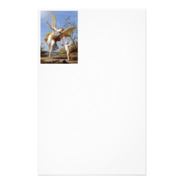 By the Seashore Angel and Child Stationery