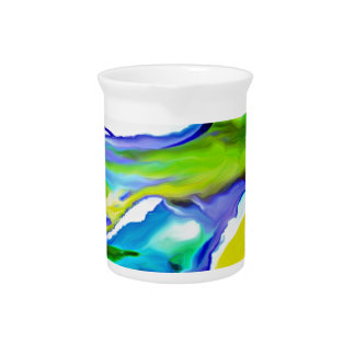 By the Seashore Beverage Pitcher